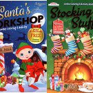 Christmas Edition Holiday Jumbo Coloring and Activity Book - Santas Workshop and Stocking Stuffers 2