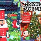 Christmas Edition Holiday Jumbo Coloring - Christmas Morning and Nutcracker Sweet (Set of 2)