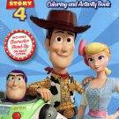Disney Toy Story 4 - Jumbo Coloring & Activity Book