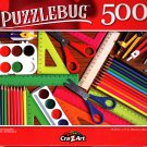 School Supplies - 500 Pieces Jigsaw Puzzle