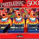 Ping Pong Clowns Midway Carnival Games - 500 Pieces Jigsaw Puzzle