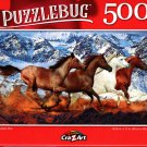 Moutain Run - 500 Pieces Jigsaw Puzzle