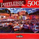 Small Grande Harbor, Italy - 500 Pieces Jigsaw Puzzle