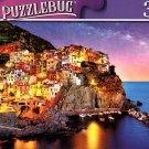 Night Blue Hour, Manarola Cinque Terre, Liguria, Italy - 300 Pieces Jigsaw Puzzle