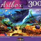 Dolphin Treasure by Kristoff Krygier - 300 Pieces Jigsaw Puzzle