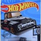 Hot Wheels Custom '56 Ford Truck 227/250, Black