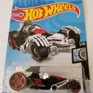 Hot Wheels 2019 Rod Squad 145/250: Tur-Bone Charged (Black/Red) - Int. Card