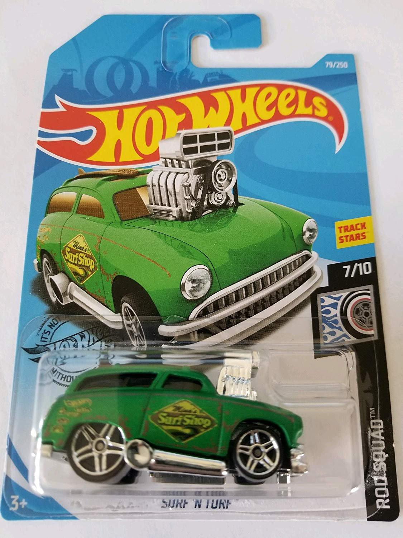 Hot Wheels 2019 Rod Squad Surf 'N Turf, Green 79/250