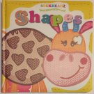 SOCKHEADZ : SHAPES Learning Shapes Board Book