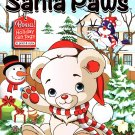 Kappa Books Christmas Edition Holiday Jumbo Coloring and Activity Book ~ Santa Paws