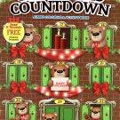 Kappa Books Christmas Edition Holiday Jumbo Coloring and Activity Book ~ Cristmas Countdown