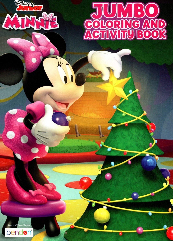 Disney Junior Minnie - Christmas Edition Holiday - Jumbo Coloring & Activity Book - Book 1