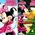Disney Junior Minnie - Christmas Edition Holiday - Jumbo Coloring & Activity Book - (Set of 2)