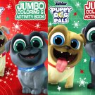 Disney Junior - Jumbo Coloring & Activity Book - Puppy Dog Pals - (Set of 2)