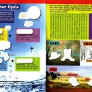 Let's Learn - Math, Print, Read, Science - Sticker Activity Educational Workbook (Set of 4 Books)