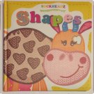 SOCKHEADZ : SHAPES, FIRST WORDS, COLORS - Shapes Board Book (Set of 3)