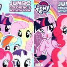My Little Pony - Jumbo Coloring & Activity Book - (Set of 2)