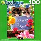 Puzzlebug Bucket Kittens 100 Piece Jigsaw Puzzle