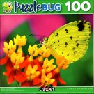 Puzzlebug Yellow Grass Butterfly 100 Piece Jigsaw Puzzle