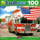 Puzzlebug Fire Truck Parade 100 Piece Jigsaw Puzzle