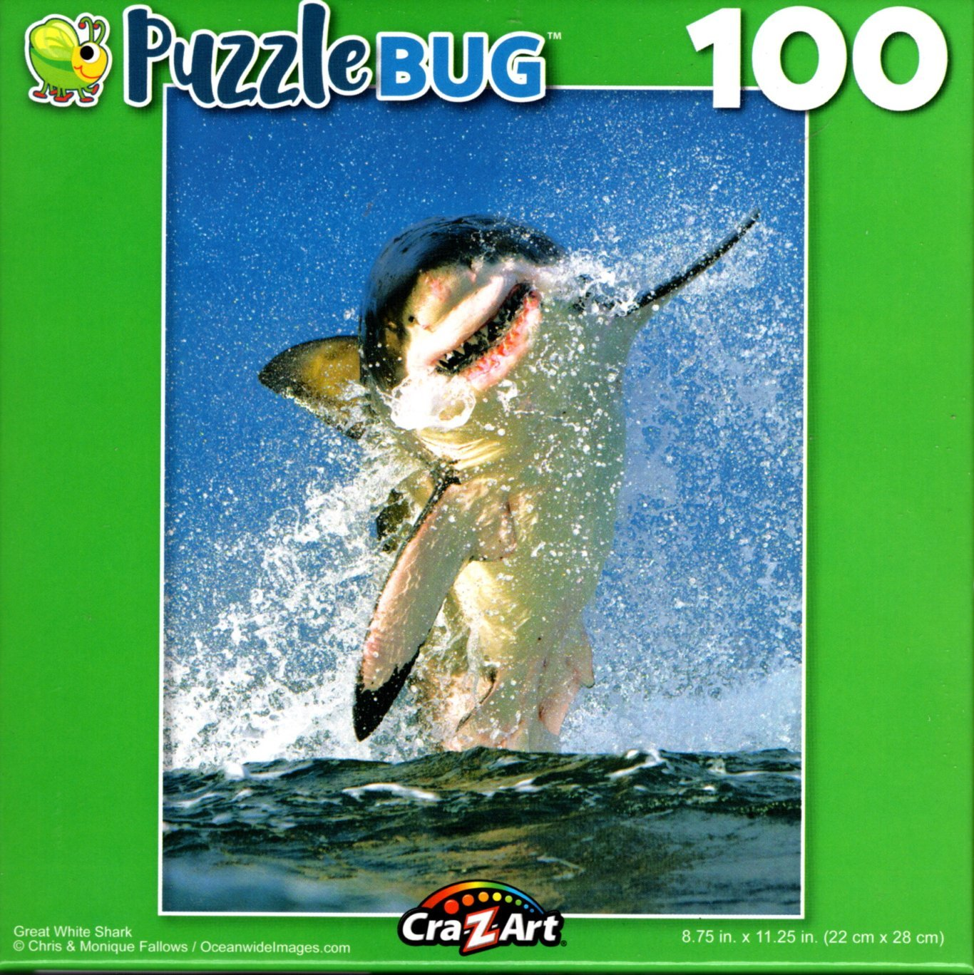 Puzzlebug Great White Shark 100 Piece Jigsaw Puzzle