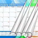 2020 Monthly Magnetic/Desk Calendar/Wall Calendar / - 12 Months Planner - (Edition #24)