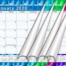 2020 Monthly Magnetic/Desk Calendar/Wall Calendar / - 12 Months Planner - (Edition #25)