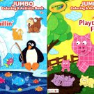 Crayola - Jumbo Coloring & Activity Book - Playtime Fun and Just Chillin