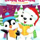 Christmas Edition Holiday - Giant Coloring and Activity Book - Sing Along