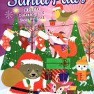 Christmas Edition Holiday - Jumbo Coloring and Activity Book - Santa Paws