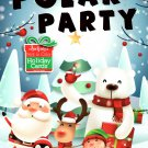 Christmas Edition Holiday - Jumbo Coloring and Activity Book - Polar Party