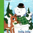 Pudolph The Red - Nosed Reindeer - Christmas Edition Holiday - Activity Book - Holly Jolly Christmas