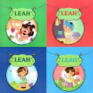 Leah Goes Potty/Leah Goes To Bed/Leah Takes A Bath/Leah Changes Her Clothes (Set of 4 Books)