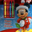 Disney Mickey Friends - Christmas Edition Holiday - Coloring & Activity Book - Includes Stickers v1