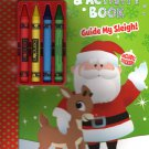 Rudolph Red - Nosed Reindeer - Activity Book - Guide My Sleigh - Includes Stickers