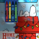 Peanuts - Christmas Edition Holiday -  Activity Book - Home For the Holidays - Includes Stickers