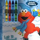 Sesame Street - Christmas Edition Holiday - Coloring & Activity Book - Includes Stickers