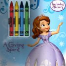 Sofia the First - Christmas Edition Holiday - Activity Book - A Giving Spirit - Includes Stickers