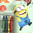 Dispicable Me - Coloring & Activity Book - Includes 30 Stickers