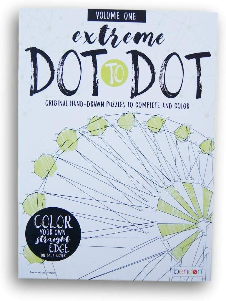 Activity Books Extreme Dot-to-Dot Picture Puzzles - Volume One - 15 Pages