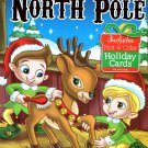 Christmas Edition Holiday - Jumbo Coloring and Activity Book - The North Pole