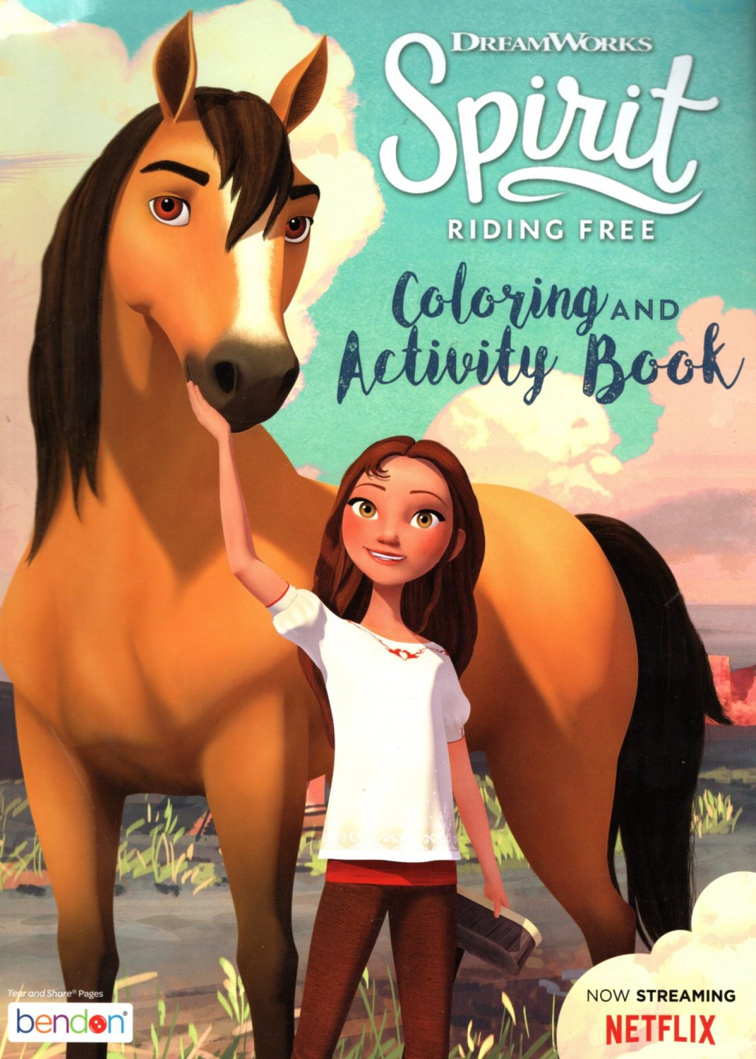 DreamWorks - Spirit Riding Free - Coloring & Activity Book