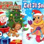 Christmas Edition Holiday - Jumbo Coloring and Activity Book - Let it Snow and Lead The Sleigh