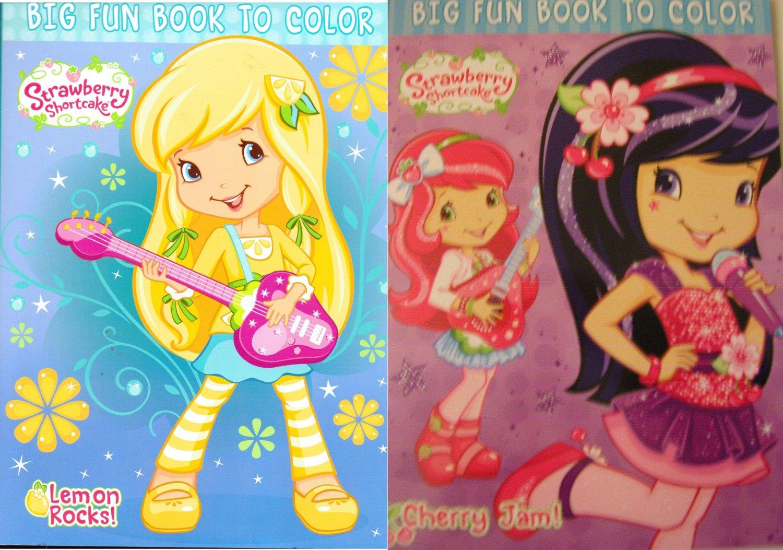 Strawberry Shortcake Coloring & Activity Book ~ Cherry Jam and Lemon Rocks!