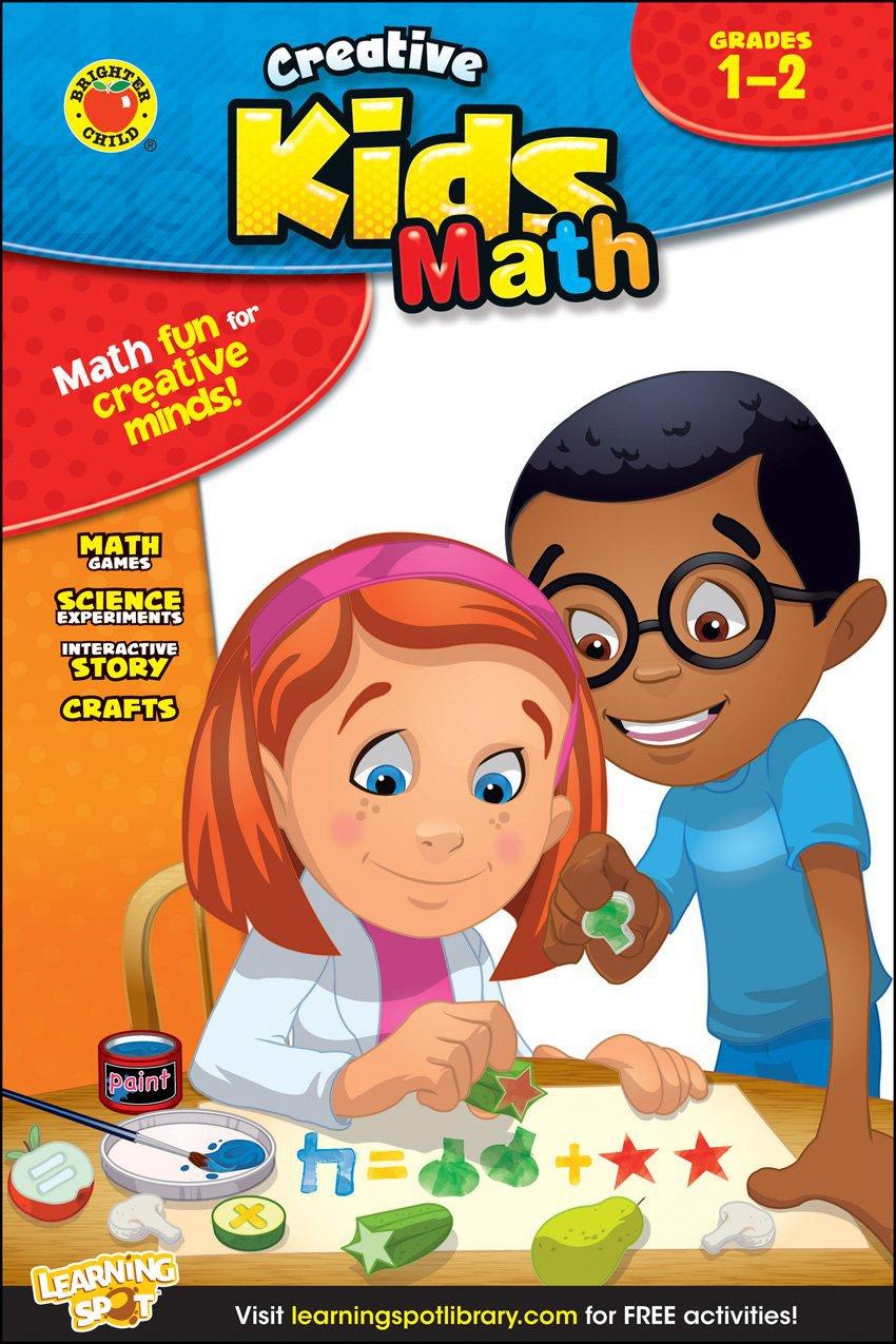 Math, Grades 1 - 2 (Creative Kids)