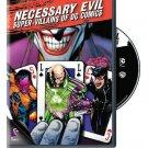 Necessary Evil: Super-Villains of DC Comics by Warner Home Video by J.M. Kenny Scott Devine (DVD)
