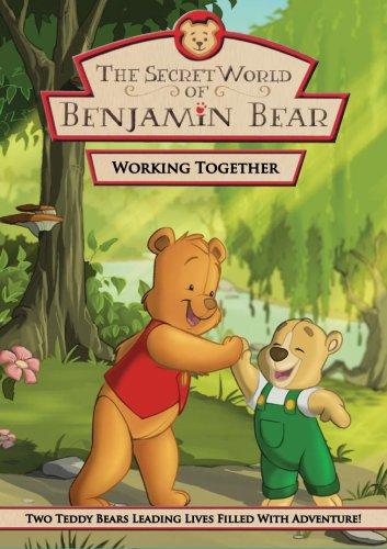 The Secret World Of Benjamin Bear: Working Together DVD dv 002