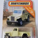 Matchbox 2019 MBX Construction 15/20 - '51 Willys Jeep Pickup 4x4