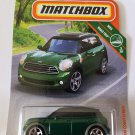 Matchbox 2019 MBX Road Trip 5/20: '11 Mini Countryman (Green)