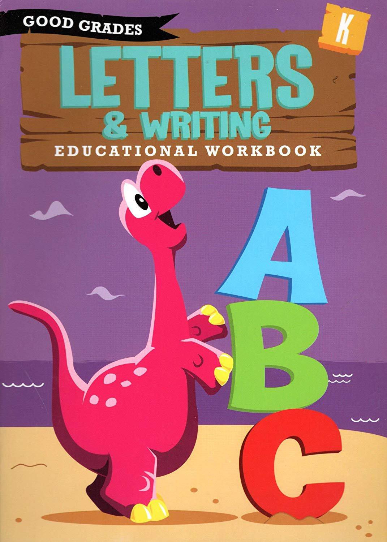 Good Grades Kindergarten Educational Workbooks Letters & Writing - v3